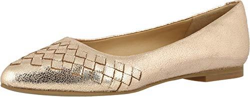 Trotters Estee Woven Gold 6.5 N (AA)