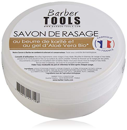 ✮ BARBER TOOLS ✮ Jabón de afeitar de 150 ml.