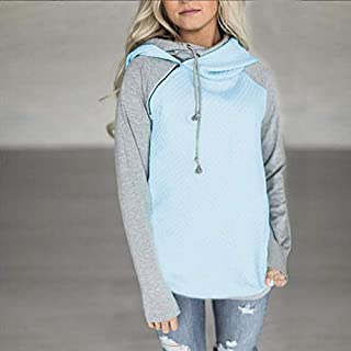 KOICOCO Sweatshirt Women'S Hoodie Long Sleeve Casual Sweatshirt Pullover Autumn