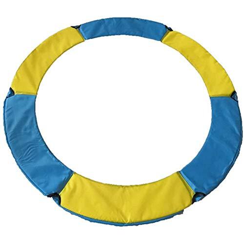LUOQI Reemplazo Trampolín Almohadilla Protectora, Cubierta para Borde de Cama Elástica Resortes de Trampolín,Resistente a los Rayos UV, Resistente a los Desgarros