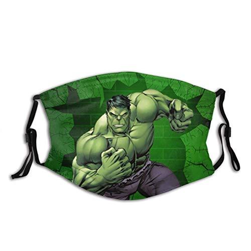 KINGAM Superhero Hulk - Máscara facial UV, máscara de sol, para motocicleta, bufanda mágica, para pesca, caza, correr, esquí