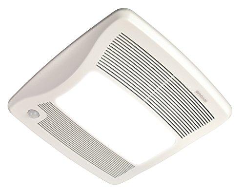 Broan ZB80ML Ultra Series Multi-Speed Motion Sensing Ventilation Fan/Light, 80 CFM, 6