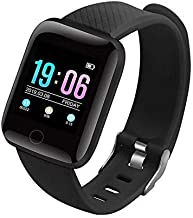 SILVERX M5 Smart Band Waterproof Fitness Tracker Watch - Steps & Calories Tracker, BP, HR OLED Touchscreen for Men & Women...