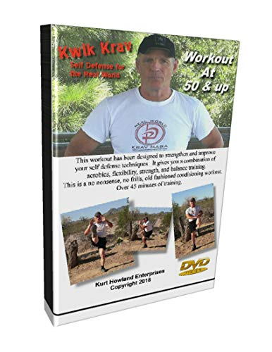 Krav MAGA Workout for 50 Years Old & Up, 3 Day Per Week Exercise Routine to Reinforce Your Self Defense.