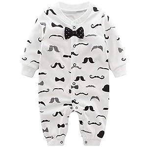 Bebés Pijama Algodón Mameluco Niños Peleles Sleepsuit Caricatura Trajes, 3-6 Meses