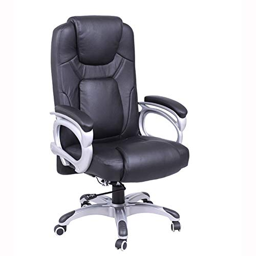Office Chair Office Chair High Back Office Desk Chair Executive Computer Chair Office Chair with Arms and Back Support Recline Computer Chairs for Home (Color : Black)