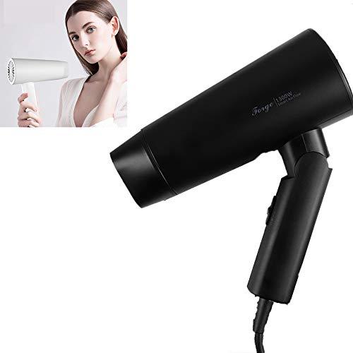 Haardroger Professionele Haardroger Warm Breeze Inklapbaar Met Diffuser en Styling Mondstuk Thuis Travel Salon, Wit