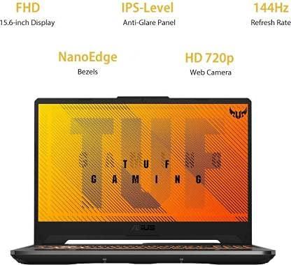 ASUS TUF Gaming F15 Core i5 10th Gen - (8 GB/512 GB SSD/Windows 10 Home/4 GB Graphics/NVIDIA GeForce GTX 1650/144 Hz/MS Office) FX506LH-HN258TS (15.6 inch, Black Plastic, 2.3 KG)