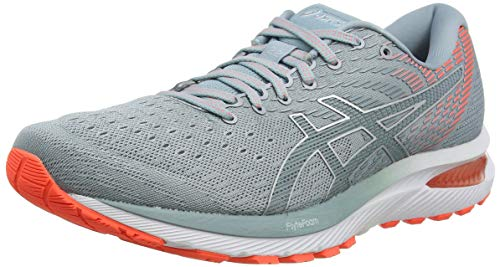 ASICS Womens Gel-Cumulus 22 Running Shoe, Piedmont Grey/Light Steel, 39 EU