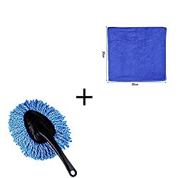 40%OFF PRETTYGAGA Car Duster, Wash Cloth, Cleaning Detail Duster Set for Car