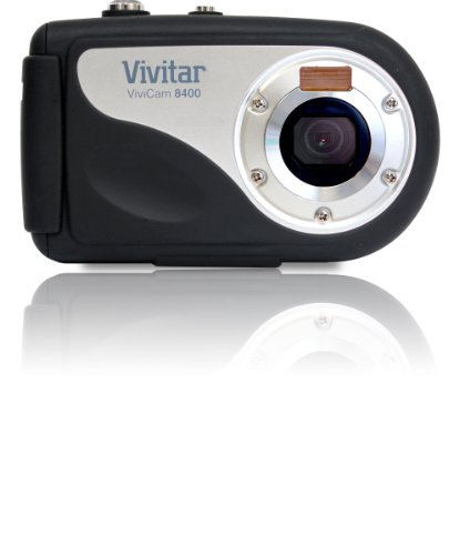 Vivitar 8400BK ViviCam 8 MP Compact System Camera with 2.4-Inch LCD Body Only (Black)