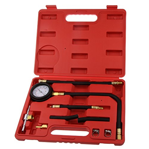 Fantastic Deal! Professional TU-113 Fuel Injector Injection Pump Pressure Tester - 9 Piece Kit