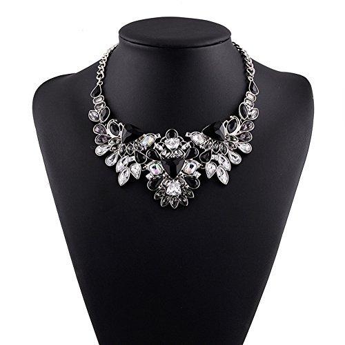 Truecharms Women's Crystal Statement Necklace   Amazon