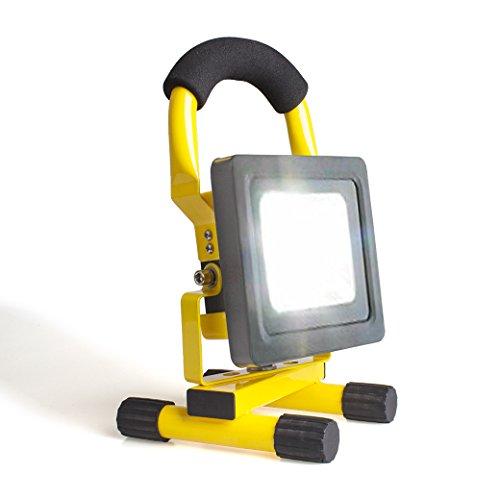 morpilot® 10W LED Recargable Luz de Trabajo portátil/Foco Luz/Seguridad Luces/Rechargeable Work Shop...