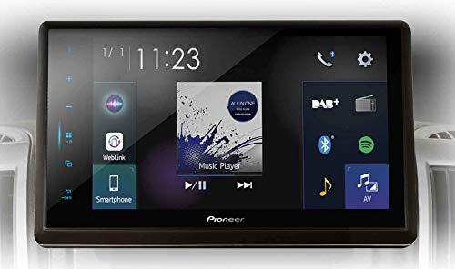 Pioneer SPH-EVO82DAB-DUC Mediacenter für FIAT Ducato X250 – X290 – Pioneer SPH-EVO82DAB Mediacenter – 8-Zoll Touchscreen, 1,5A Quick-Charging USB, Apple CarPlay, Android Auto, DAB/DAB+, Bluetooth