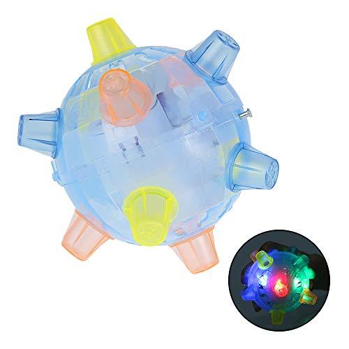 Bola de música intermitente, bolas de baile, juguetes con luz LED, bola sensorial, bola de baile para mascotas, perros, gatos y juguetes