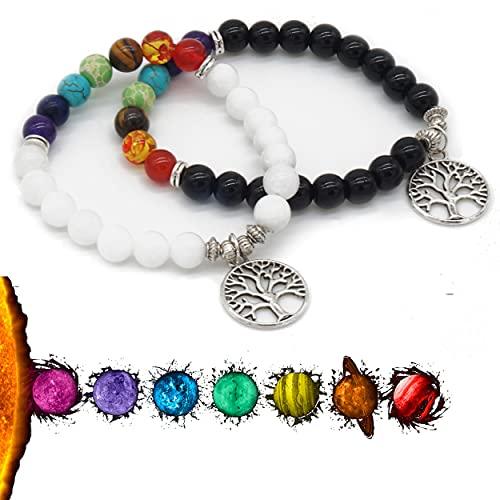Piedras Chakras, Pulsera Chakras piedras naturales, Piedras energéticas, Pulseras energéticas, pulseras chakras, Piedras protectoras, Pulseras piedras naturales, Amuletos de buena suerte