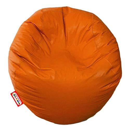 Puff Esfera Color Naranja
