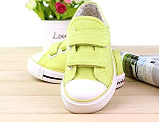 SandQ baby Lime Green Canvas Shoe