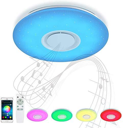 IWxez Deckenleuchte Amazon Smart-Runde Badezimmer Flur WiFi-Deckenleuchte Smartphone App Dimming,White