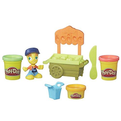 Play-Doh Town - B5977 - Marktstand - mit 140g Knete