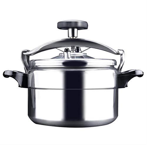 Cocina de presión de aleación de aluminio, olla a presión segura Multi-especificación 18-54 CM Estufa de gas grande General General Cocina lenta Comercial Hogar Cantino Restaurante Alta presión cocina