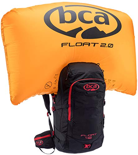 Backcountry Access BCA Float 2.0 Avalanche Backpack, Unisex, 23C0003.1.1.1SIZ, Black, 55 x 33 x 23 cm, 42 Liter