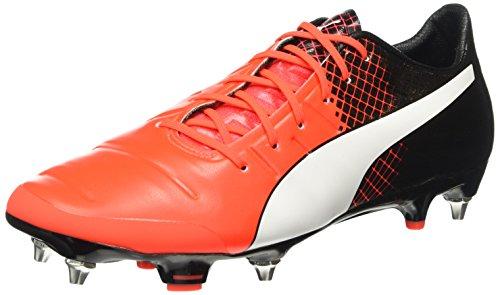 Puma Herren EvoPower 1.3 Mx SG Fußballschuhe, Rot (Red Blast White Black 01), 42 EU