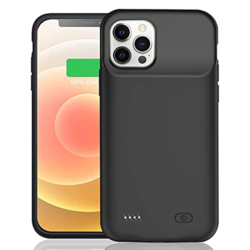 Battery Case for iPhone 12/12 Pro, Enhanced 7000mAh Smart Rechargeable Portable Protective Charging...