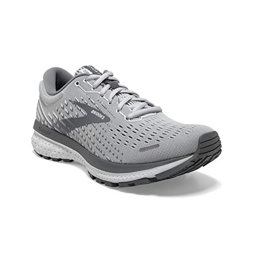 Brooks Ghost 13 Alloy/Oyster/White 9 B (M)