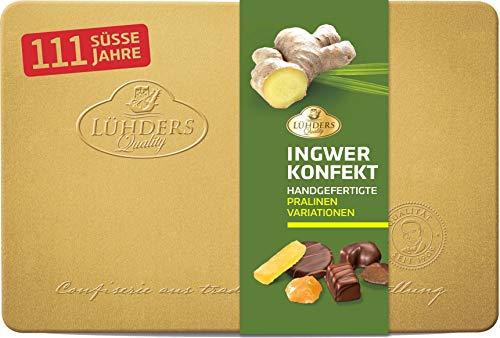 Lühders Ingwer-Konfekt 1x500g Geschenkdose