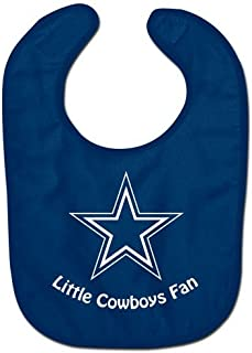 NFL Football Full Color Mesh Baby Bibs (Dallas Cowboys All Pro)