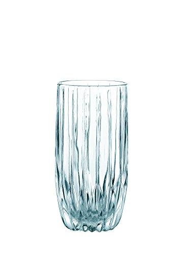 Nachtmann 1692-131 Juego de 4 Vasos High Ball, Modelo Prestige, color Cristal