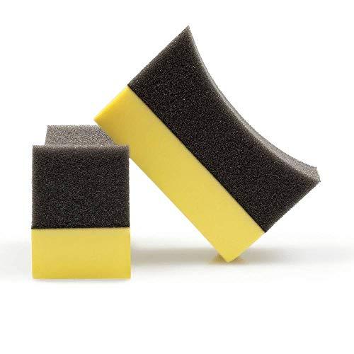 FreyChemie 10 almohadillas ergonómicas para neumáticos de gel y aliños.