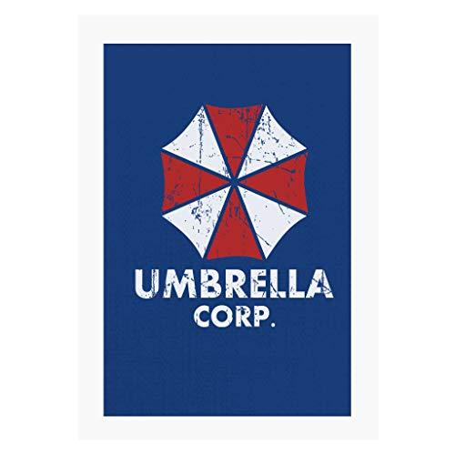 Cloud City 7 Umbrella Corp Resident Evil A4 Print