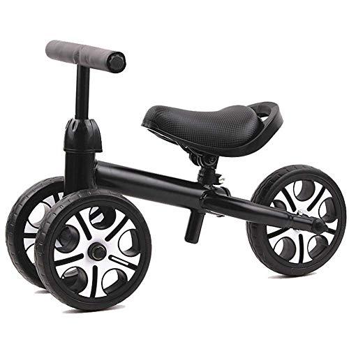 GPWDSN Triciclo portátil Triciclo Triciclo Andador para bebés Sin Pedal Bicicleta Triciclo Juguetes para Montar Niños Tres Ruedas Bicicleta de Equilibrio Scooter Andador para bebés Bicicletas portá