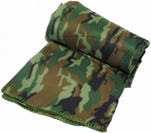 Mil-Tec Decke Poly-Fleece Woodland