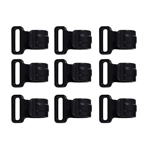 ZSDFW Clips de lona resistentes para tienda de campaña, accesorios para tienda de campaña, caravana, jardín, tela tipo A (16 x 20 x 12 mm)