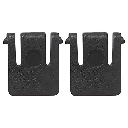 Matedepreso Soporte de pie inclinable para teclado mecánico de plástico de 1 par negro para Logitech MK520