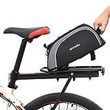 Fahrrad Gepäckträgertasche | Fahrrad Satteltasche Gepäckträger Tasche 8L | Multifunktionale...