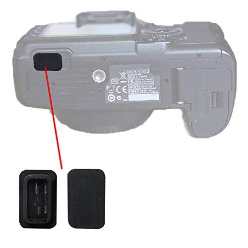 USB Bottom Rubber Door Cover Lid Cap Square Plug Interface Rubber for Canon EOS 40D 50D 7D 5D2 Camera Repair