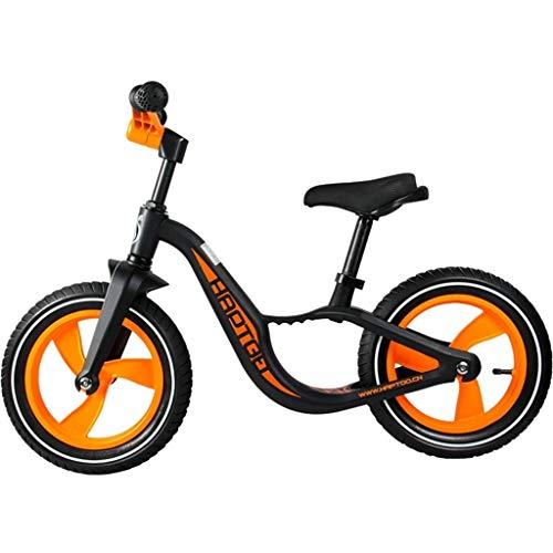 LIMUZI 12 Pro Balance Bike for Kids (1-5 jaar), Ultra lichtgewicht Fast Racing Children's Bike verstelbare stoel en Opvouwbaar Handvat Binnen Buiten