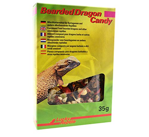 Lucky Reptile Bearded Dragon Candy 35 g, 1-pack (1 x 35 g)