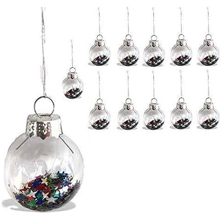 Set of Nine Vintage Glass Ornaments