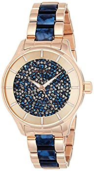 Invicta Women s Angel 40mm Rose Gold Tone Stainless Steel and Resin Quartz Watch Rose Gold  Model  24662
