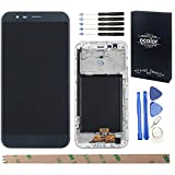 HYYT Replacement for LG Stylo 3 Plus MP450 TP450 M470F M470 LCD Digitizer Screen and Touch Screen Assembly Sliver Frame+Free Tools (Black) (LG Stylo 3 Plus LCD)