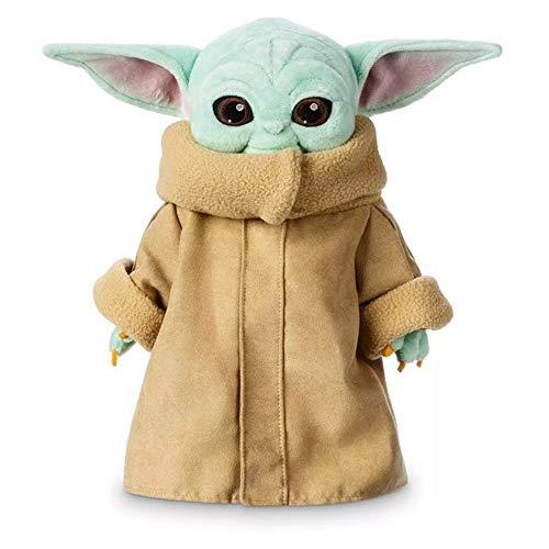 GHTYN Baby Yoda Plush Toys For Kids, The Child Soft Yoda Plush Figure Toys Stuffed Doll The Mandalorian Baby Yoda,De MuñEcas Regalos De CumpleañOs del DíA De San ValentíN para NiñOs 30CM