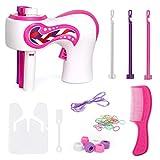 Eksesor Automatic Hair Braider, Elektrische Haarflechtmaschine,DIY Hair Styling Tools,Automatische Haarflecht Vorrichtung Modefrisur für Mädchen Frauen