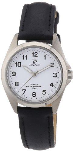 TP Time Piece TPLT-50219-12L - Orologio da polso donna, pelle, colore: nero