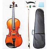 Pretorio 初めてでも簡単に弾ける フレット付きバイオリン 8点セット PV-200F 4/4サイズ 工房調整済 (ポジションマークあり)